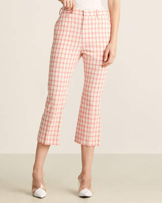 Ter Et Bantine Checked Cropped Pants