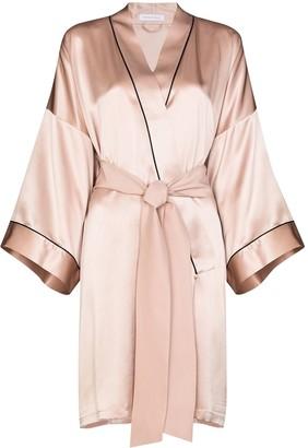 Olivia von Halle Short Dressing Gown