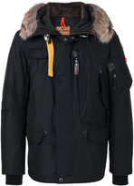 Parajumpers fur trim hooded jacket - men - Feather Down/Acrylic/Polyester/Wool - S