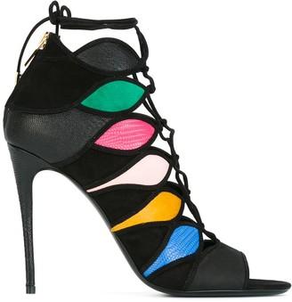Salvatore Ferragamo Colour Block Sandals