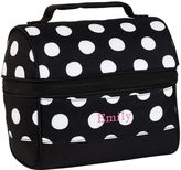 PBteen Gear-Up White Dot Retro Classic Lunch Bag