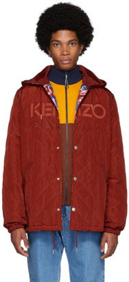 Kenzo Reversible Red World Jacket