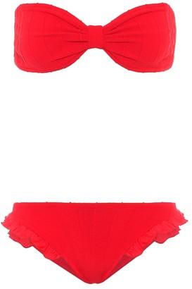 Hunza G Exclusive to Mytheresa bandeau bikini
