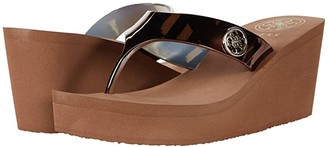 GUESS Shadia (Bronze Synthetic) Women's Sandals