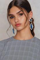 Diamond Teardrop Earring