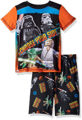 Lego Star Wars Little and Big Boys 2 Piece Short Pajamas Set