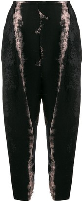 Masnada Distressed Style Trousers