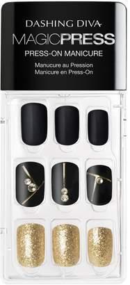 DASHING DIVA Magic Press on Nails Gold Standard