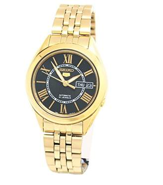 Seiko Men's SNKL40 Gold Plated Stainless Steel Analog with Dial Watch