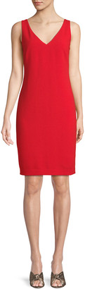 Trina Turk Oceanside Sleeveless Dress w/ Ruched Back