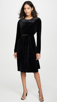 Norma Kamali Boyfriend Long Sleeve Dress