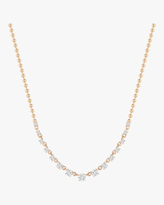 Jemma Wynne Prive Graduated Diamond Necklace
