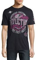 Affliction AC Faster Louder Cotton Tee