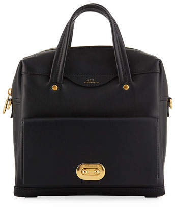 Anya Hindmarch Buddy Small Leather Tote Bag