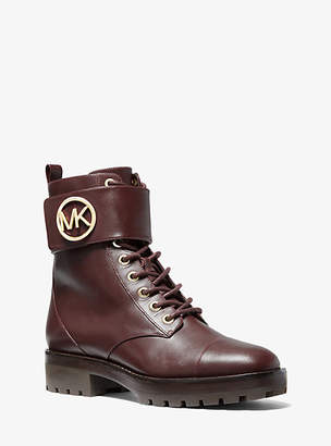 MICHAEL Michael Kors Tatum Leather Combat Boot