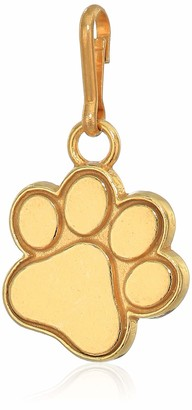 Alex and Ani Women's Paw Print Charm 14kt Gold Plated