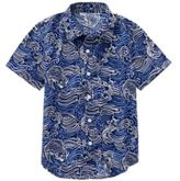 Crazy 8 Fish Print Shirt