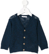 Babe And Tess - v-neck cardigan - kids - Cotton/Linen/Flax - 3 mth