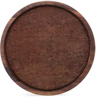 LSA International City walnut small serving tray (30cm)