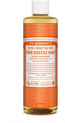 Dr. Bronner's Organic Tea Tree Castile Liquid Soap 473Ml