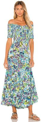Poupette St Barth Soledad Off Shoulder Dress