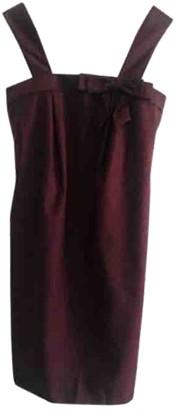 Paul & Joe Burgundy Wool Dress for Women