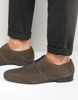 HUGO BOSS BOSS By Paris Suede Derby Shoes