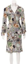 Missoni Abstract Print Midi Dress