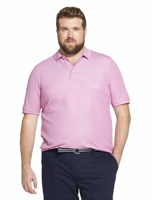 Izod Men's Size Big and Tall Advantage Performance Short Sleeve Solid Polo