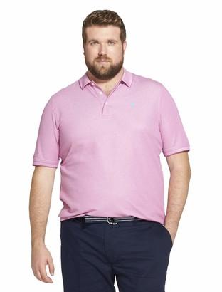 Izod Men's Size Big & Tall Advantage Performance Short Sleeve Solid Polo Shirt (Discontinued)