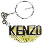Kenzo Yellow Keychains With Black Logo