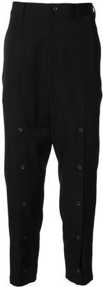 Yohji Yamamoto High Rise Tapered Trousers
