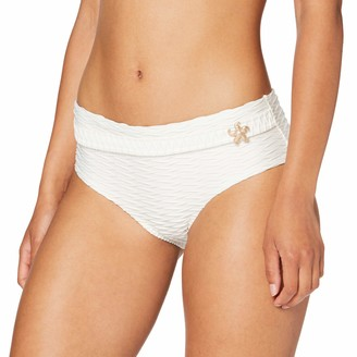 Lovable Women's Precious White Bikini Bottoms