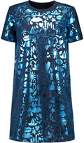 Markus Lupfer Millie metallic printed cotton dress