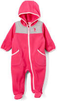 U.S. Polo Assn. Fuchsia Contrast-Trim Bunting - Infant
