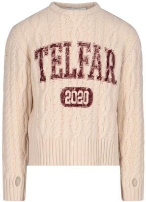 Telfar Cable Knit Jumper