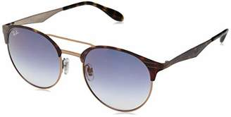 Ray-Ban Unisex's 0RB3545 9074V0 Sunglasses, Copper On Top Havana/Gradient Mirror Red