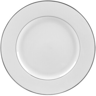 Ten Strawberry Street Set Of Six Silver Double Line Charger Plates