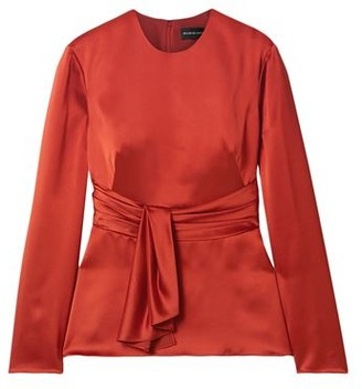 Brandon Maxwell Blouse