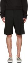 McQ by Alexander McQueen Black Kilt Shorts