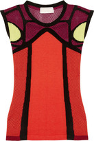 Peter Pilotto K Vest knitted cotton-blend top