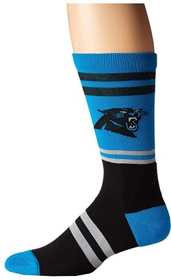Stance NFL Panthers Logo (Blue) Men's Crew Cut Socks Shoes