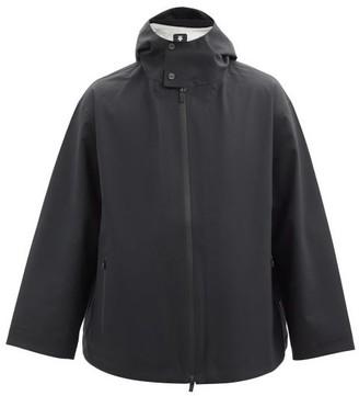 Descente Hooded Gore-tex Wool Jacket - Black