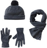 Petit Bateau Hat, scarf and gloves set