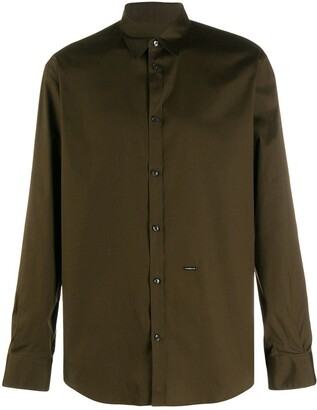 DSQUARED2 Long-Sleeve Buttoned Shirt