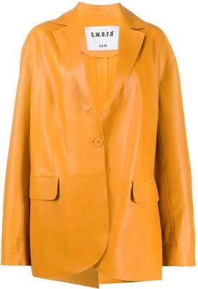 S.W.O.R.D 6.6.44 Oversized Tailored Blazer