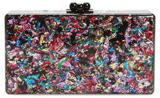 Edie Parker Jean Confetti Box Clutch