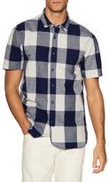 Jachs Check Spread Collar Sportshirt