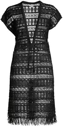 Gottex Swim Crochet Cover-Up Dress