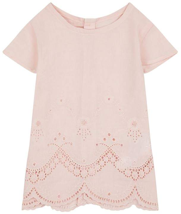 Tartine et Chocolat Broderie Anglaise Tunic Top